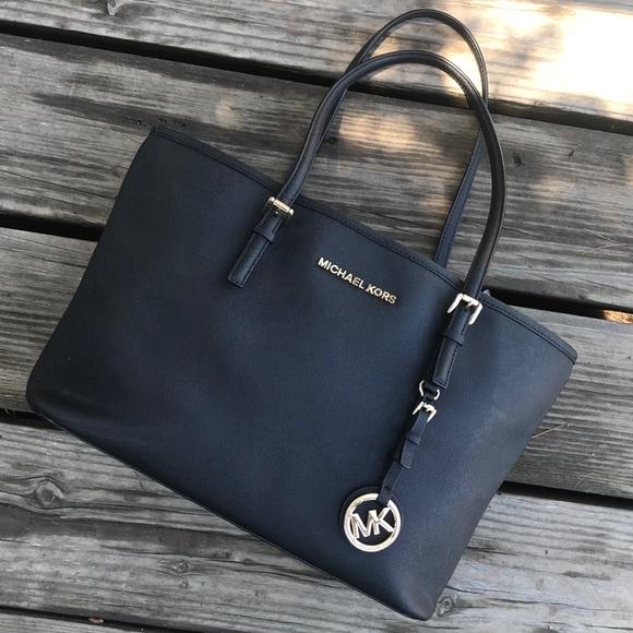 Michael Kors Handbags - Michael Kors Small Jet Set Travel Tote Bag